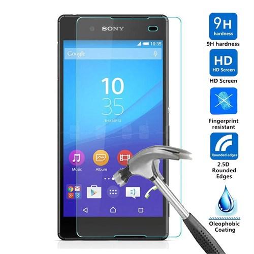 Case 4U Sony Xperia E4 Kırılmaz Cam Ekran Koruyucu