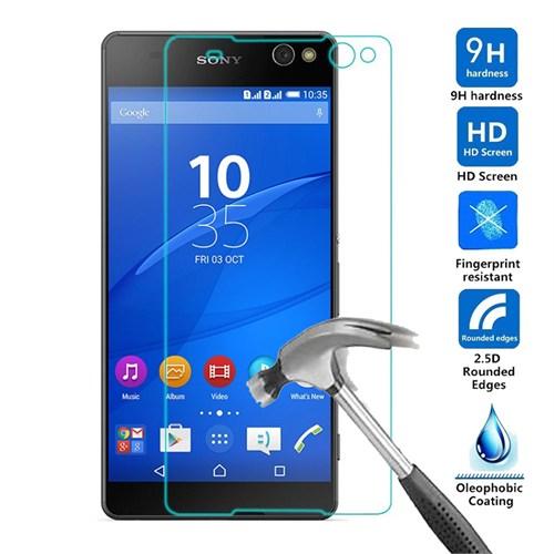Case 4U Sony Xperia M5 Kırılmaz Cam Ekran Koruyucu