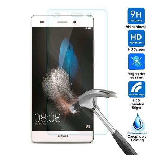 Case 4U Huawei P8 Lite Kırılmaz Cam Ekran Koruyucu