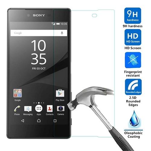 Case 4U Sony Xperia Z5 Compact Kırılmaz Cam Ekran Koruyucu