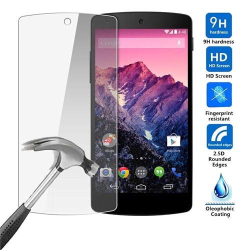 Case 4U Lg Nexus 5 Kırılmaz Cam Ekran Koruyucu