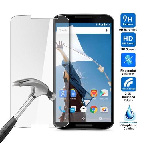 Case 4U Lg Nexus 6 Kırılmaz Cam Ekran Koruyucu
