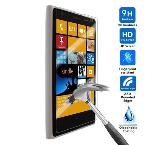 Case 4U Nokia Lumia 1020 Kırılmaz Cam Ekran Koruyucu