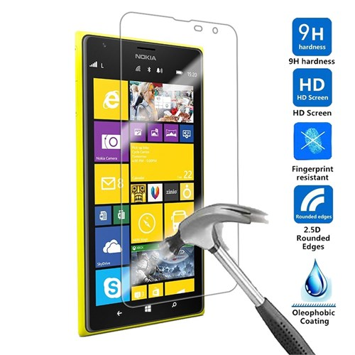 Case 4U Nokia Lumia 1320 Kırılmaz Cam Ekran Koruyucu