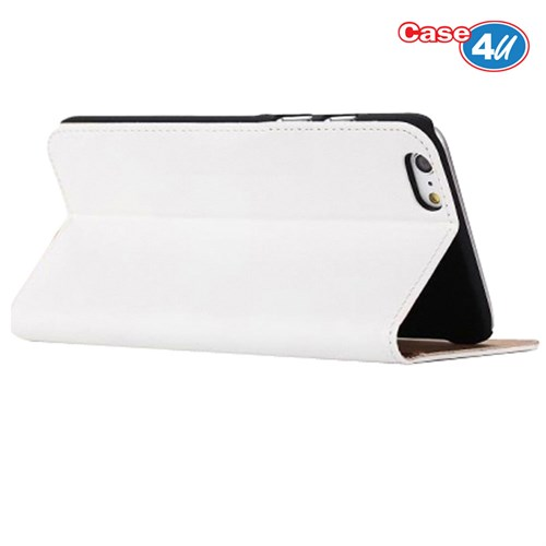 Case 4U Apple İphone 6S Plus Delux Beyaz Kılıf