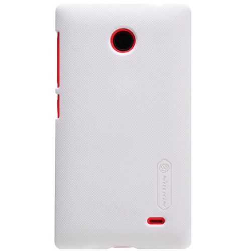 Nillkin Nokia X Kılıf Frosted Rubber Sert Kapak Beyaz