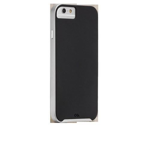 Casemate Apple iPhone6 Slim Tough Siyah Gümüş Kılıf