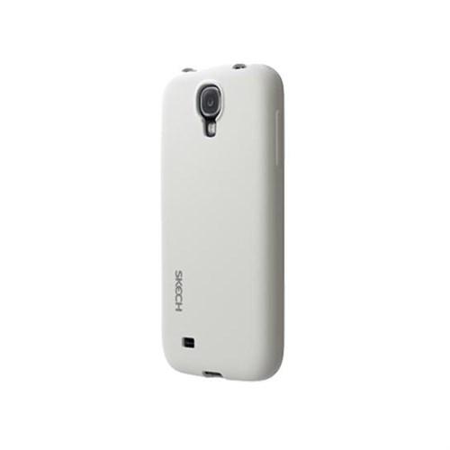 Skech Samsung Galaxy S4 Groove Slim Beyaz Kılıf