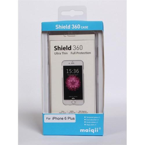 Maiqii Shield 360 İphone 6 Plus Kırılmaz Cam Ve Kılıf