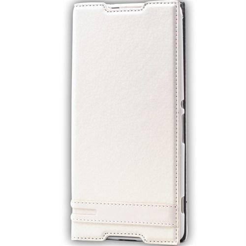 Lopard Apple İphone 6S Kılıf Sapphire Kapaklı Deri Görünümlü Mat