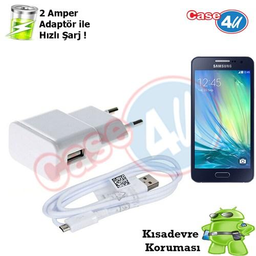 Case 4U Samsung Galaxy A3 Şarj Seti