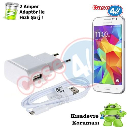 Case 4U Samsung Galaxy Core Prime Şarj Seti