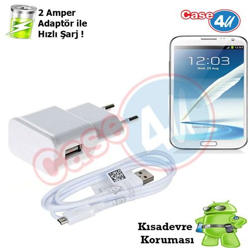 Case 4U Samsung Galaxy Note 2 Şarj Seti