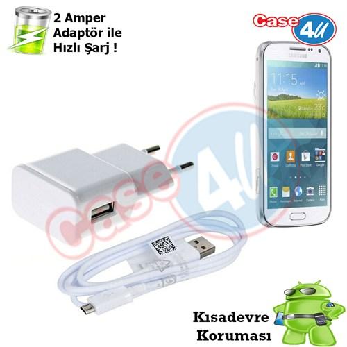 Case 4U Samsung Galaxy K Zoom(S5 Zoom) Şarj Seti