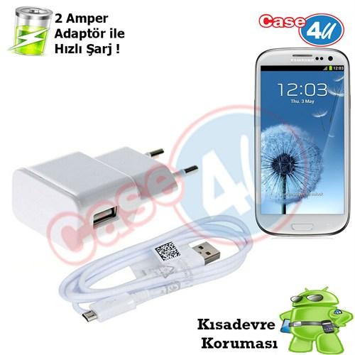 Case 4U Samsung Galaxy S3 Şarj Seti