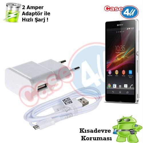 Case 4U Sony Xperia Z Şarj Seti