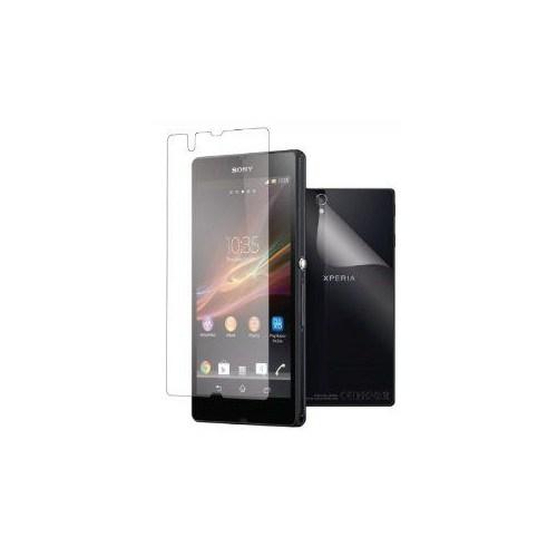 CoverZone Sony Xperia T2 Ultra Ekran Koruyucu Film Ön Ve Arka Yüzey