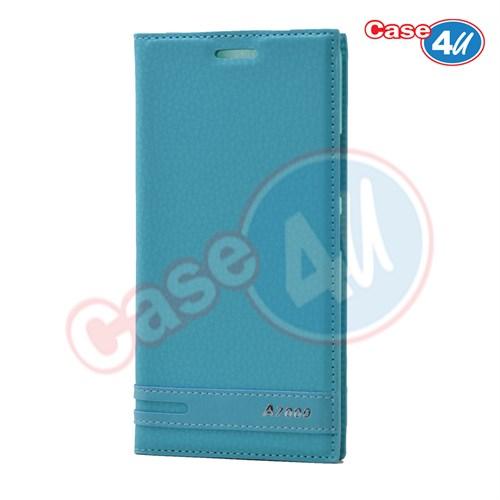 Case 4U Lenovo A7000 Gizli Mıknatıslı Kılıf Mavi