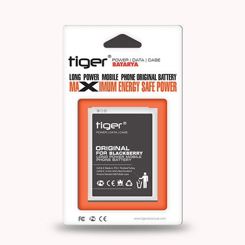 Tiger Blackberry 8520 C-S2 Batarya Sertec