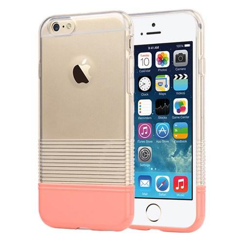 Microsonic Colors Soft İphone 6S Kılıf Pembe