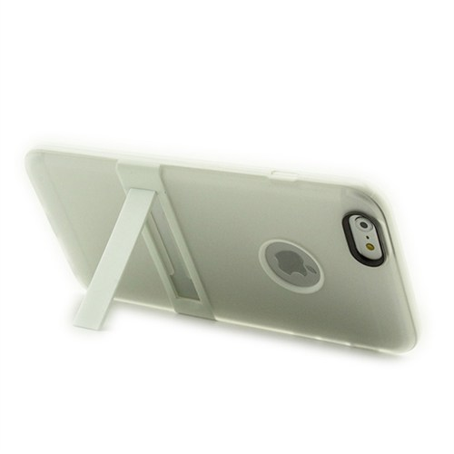 Microsonic Standlı Soft İphone 6S Plus (5.5'') Kılıf Beyaz
