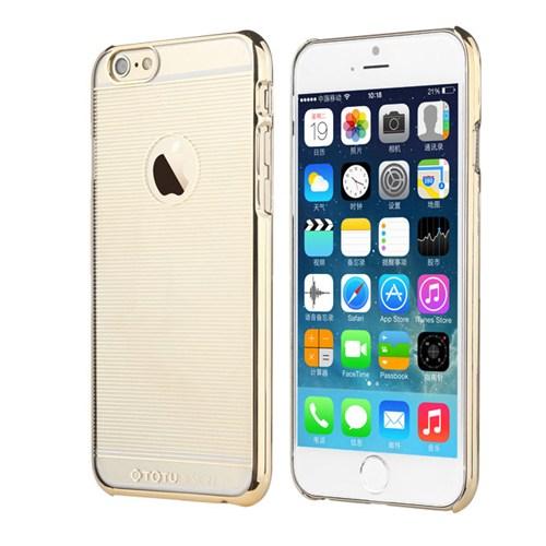 TotuDesign Apple iPhone 6S Plus Kılıf Gold Breeze Series