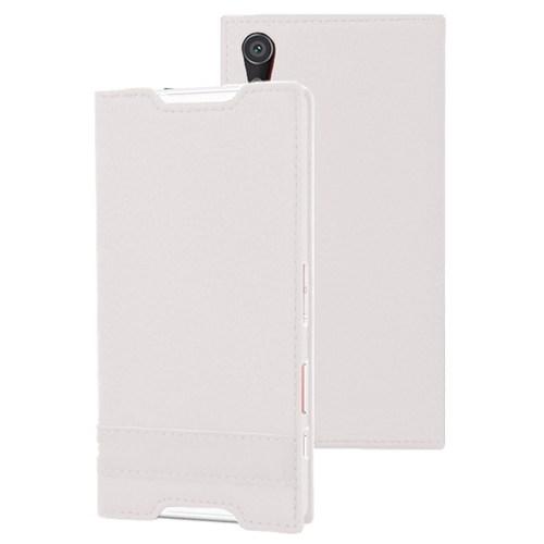 Microsonic Sony Xperia Z5 Kılıf Gizli Mıknatıslı Delux Beyaz