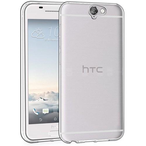 Microsonic Htc One A9 Kılıf Transparent Soft Beyaz