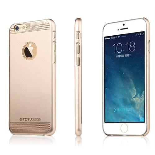 TotuDesign Apple iPhone 6S Kılıf Gold Glamor Queen Ambulatory Series