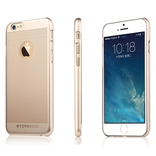 TotuDesign Apple iPhone 6S Kılıf Gold Elegant King Ambulatory Series