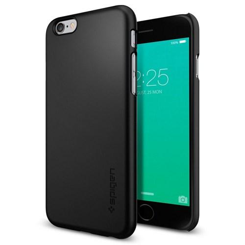 Spigen Sgp iPhone 6s Kılıf Thin Fit Ultra İnce Black-SGP11592