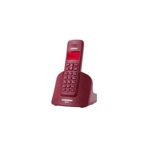 Grundig Gdt 310 Kırmızı Dect Telefon