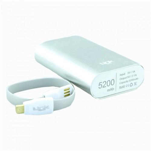 Link Tech Powerbank 5200 Mah (Gümüş)