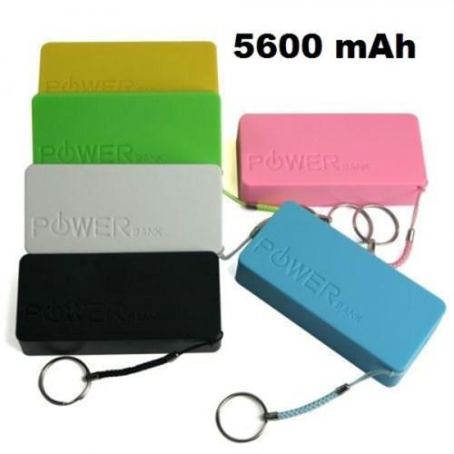 Power Bank Harici Mobil Güç Bataryası Power Bank 5600 Mah