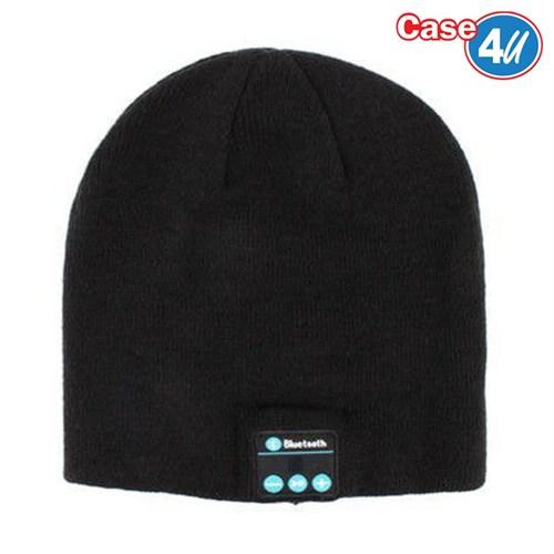 Case 4U Kablosuz Bluetooth Kulaklık Bere Siyah