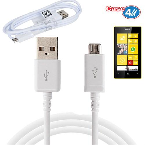 Case 4U Nokia Lumia 520 Micro Usb Data Ve Şarj Kablosu