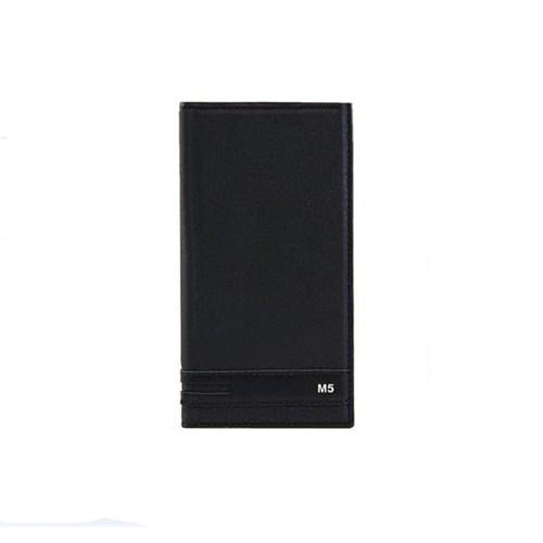 Magnum Sony Xperia M5 Kapaklı Kılıf Siyah