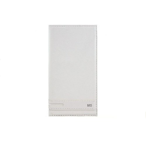 Magnum Sony Xperia M5 Kapaklı Kılıf Beyaz
