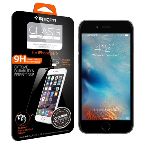 Spigen iPhone 6s Cam Ekran Koruyucu GLAS.tR SLIM- SGP11588