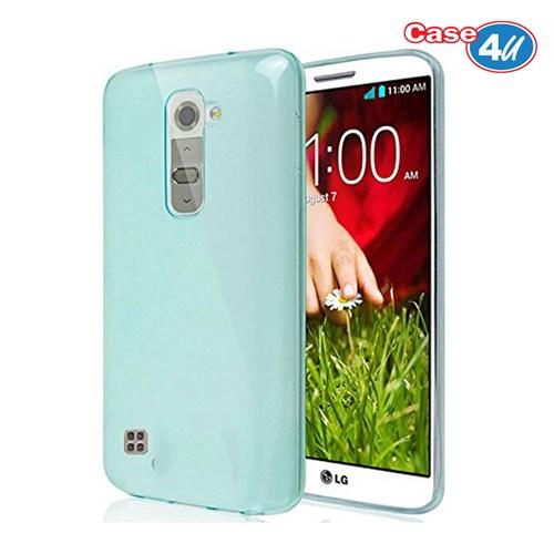Case 4U Lg G4c Ultra İnce Silikon Kılıf Mavi