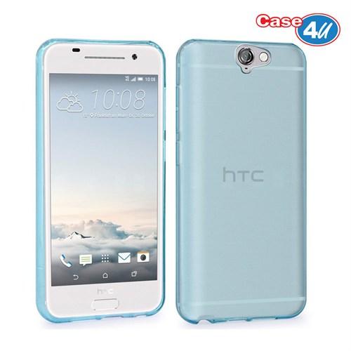 Case 4U Htc One A9 Ultra İnce Silikon Kılıf Mavi