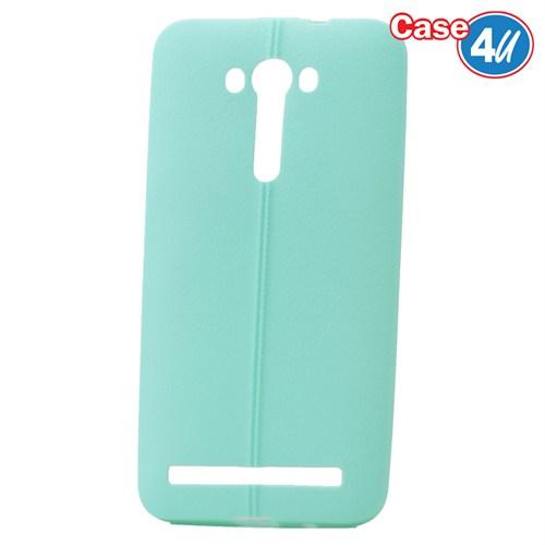 """Case 4U Asus Zenfone 2 Laser 5""""(Ze500kl) Desenli Silikon Kılıf Yeşil"""
