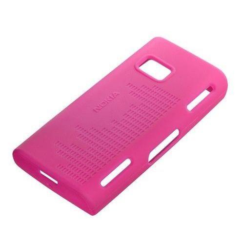 Nokia X6 Silikon Kılıf CC 1001 Fuşya