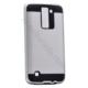 Case 4U LG K8 Verus Korumalı Kapak Gümüş Gri