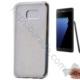 Case 4U Samsung Galaxy Note 7 Lazer Kaplama Silikon Kılıf Gümüş
