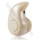 Case 4U Süper Mini Kulakiçi Bluetooth Kulaklık Altın