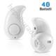 Case 4U Süper Mini Kulakiçi Bluetooth Kulaklık Beyaz