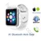 Case 4U Samsung iPhone Sony LG HTC A1 Akıllı Saat Beyaz (IOS ve Android Uyumlu)