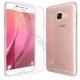 Case 4U Samsung Galaxy C7 Kılıf Ultra İnce Silikon Şeffaf