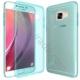 Case 4U Samsung Galaxy C7 Kılıf Ultra İnce Silikon Mavi